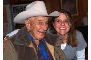 A picture of me with my granddad <3